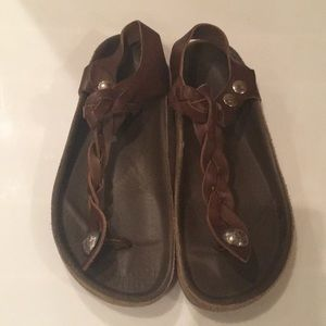 Isabel Marant Leather Thong Sandal